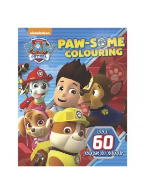 Paw Patrol: Paw-some Colouring - Book