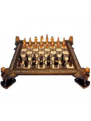 Chess Set Egyptian With Board