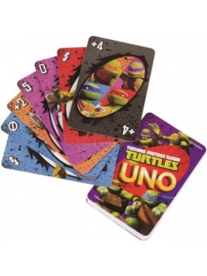 Uno Teenage Mutant Ninja Turtles TMNT