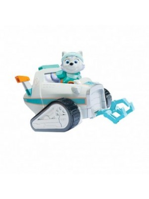 Paw Patrol Everest Rescue Snowmobile Vehicle and Figure