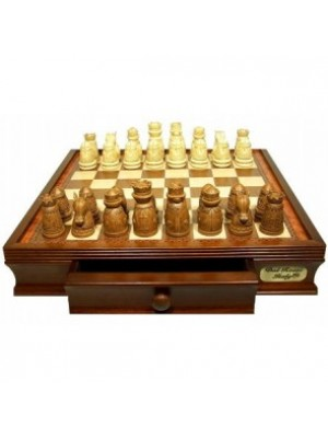 Dal Rossi Italy Chess Set Medieval Poly Resin