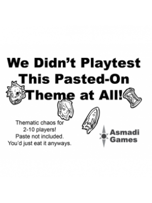 We Didn't Playtest This Pasted-On Theme At All