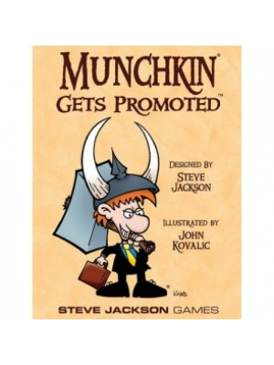 Munchkin: Gets Promoted