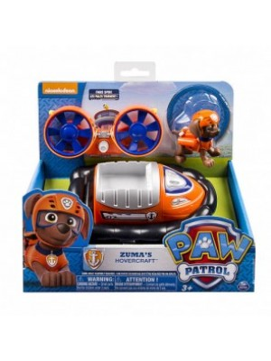 Paw Patrol Zuma's Hovercraft Vehicle and Figure