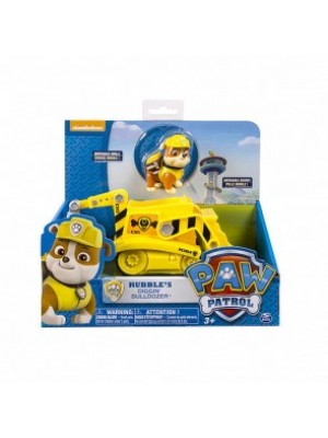 Paw Patrol Rubble's Diggn Bulldozer Vehicle and Figure